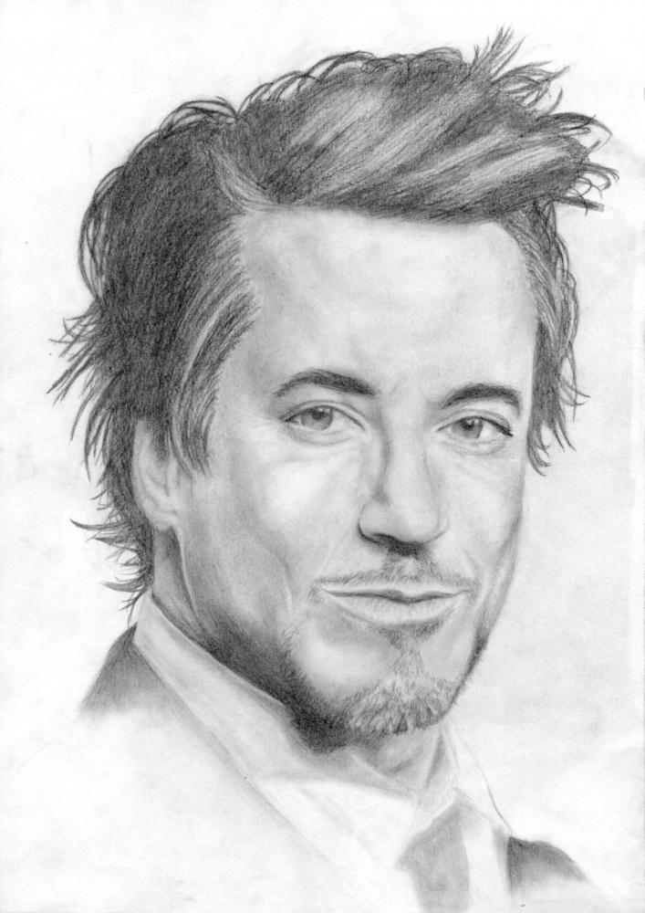 Robert Downey Jr by Asuky